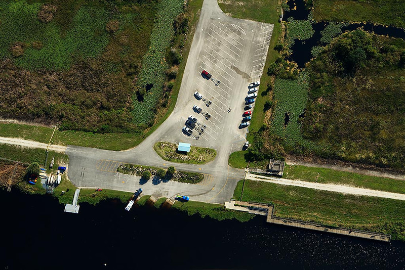 <b>Headquarters Area Boat Ramp and Fishing Pier</b>  October 2011  <i>- Jay Paredes</i>