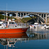 """Depoe Bay is the self-proclaimed """"smallest navigable harbor"""" in the world."""