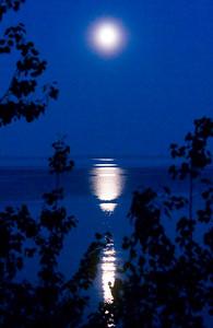 Full Moon - Madeline Island, WI