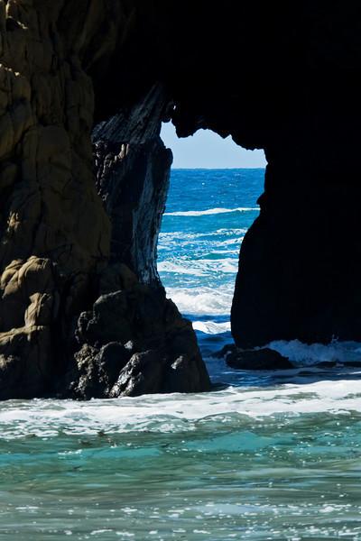 Rock Arch - Pfeiffer Beach - Big Sur, CA