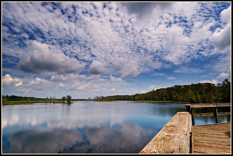 Lake Miccosukee near Monticello, Florida