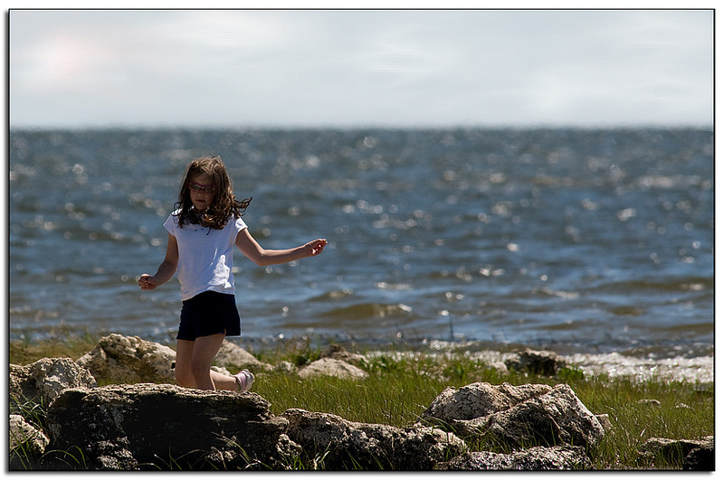 Girl, On The Rocks