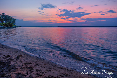 Sunset Over The Rappahannock River