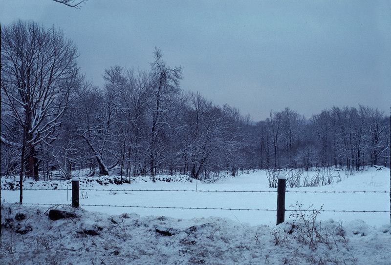 CT snow scene #2 - December 1976