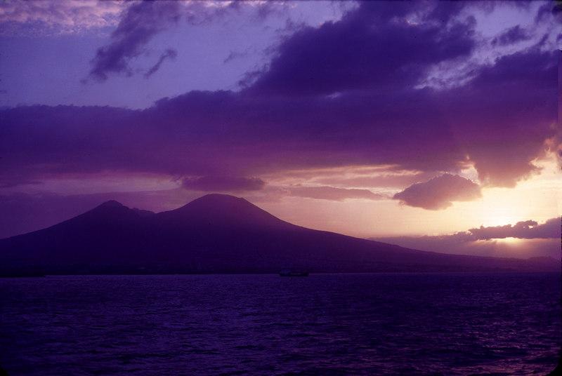 Mt Vesuvius sunrise