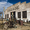 Returning from a deer hunting trip, I had the time to stop and take a few shots of this abandoned auto repair business garage in rural Nebraska (Rogers, NE).