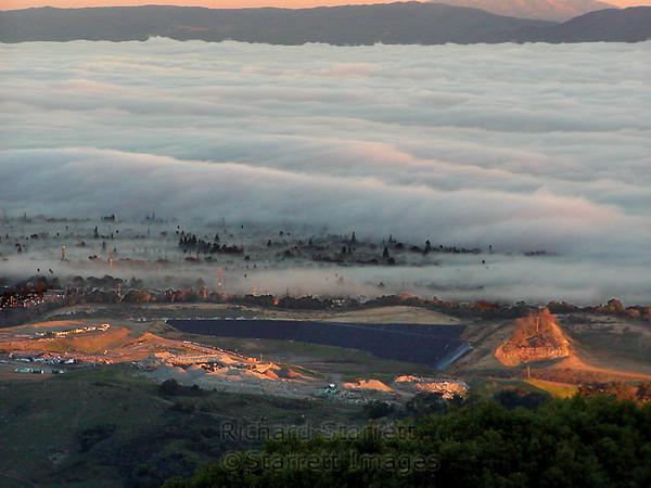 Almaden Valley fog