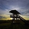 Description - Observation Tower at Sunrise <b>Title - Observation Tower</b> <i>- Ed Mattis</i>