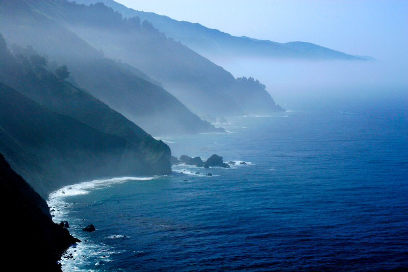 Foggy Morning, Big Sur Coastline<br /> (California, 2006)