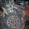 Petroglyphs at Capital Reef