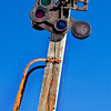 Death Valley railroad signal