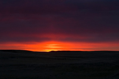 Sunrise - Badlands, SD