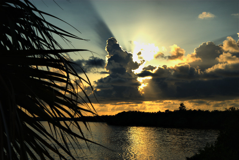 Sunset Ding Darling NWR, Sanibel Island, FL