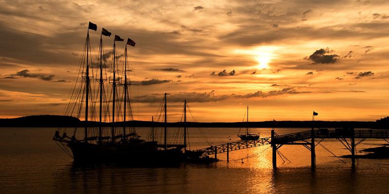 Sunrise in Bar Harbor