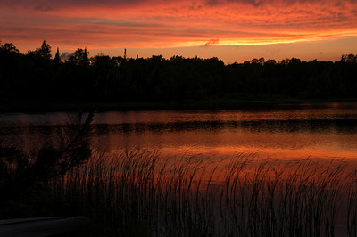 Sunset - Dunning Lake - Itasca County, MN