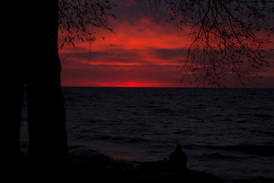 Sunset - Door County, WI