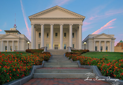 Autumn at the Virginia State Capitol