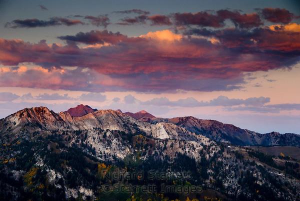 Dawn from Solitude Peak