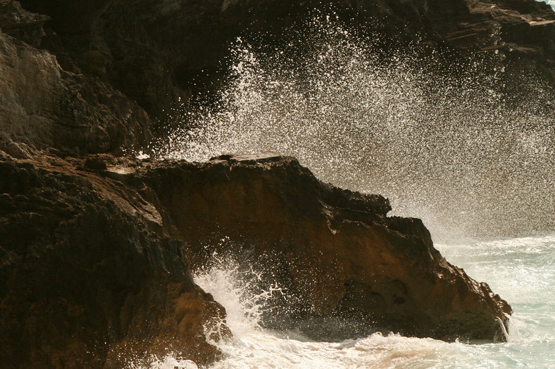 Spray, South Shore Park<br /> (Bermuda, 2005)