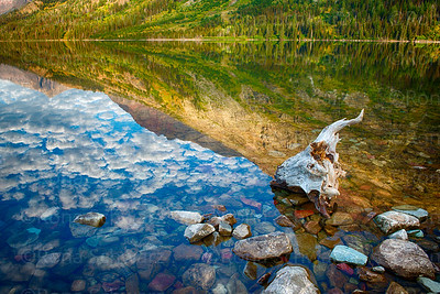 USA, Montana, Glacier National Park, Two Medicine Lake