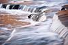 USA, Indiana. Cataract Falls State Recreation Area in autumn.