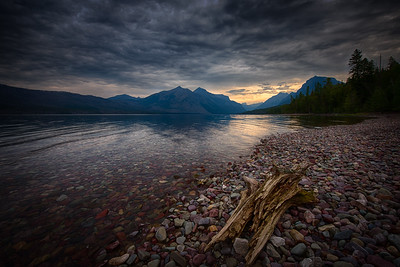 USA, Montana, Glacier National Park, Lake MacDonald