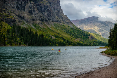 USA, Montana, Glacier National Park, Lake Josephine