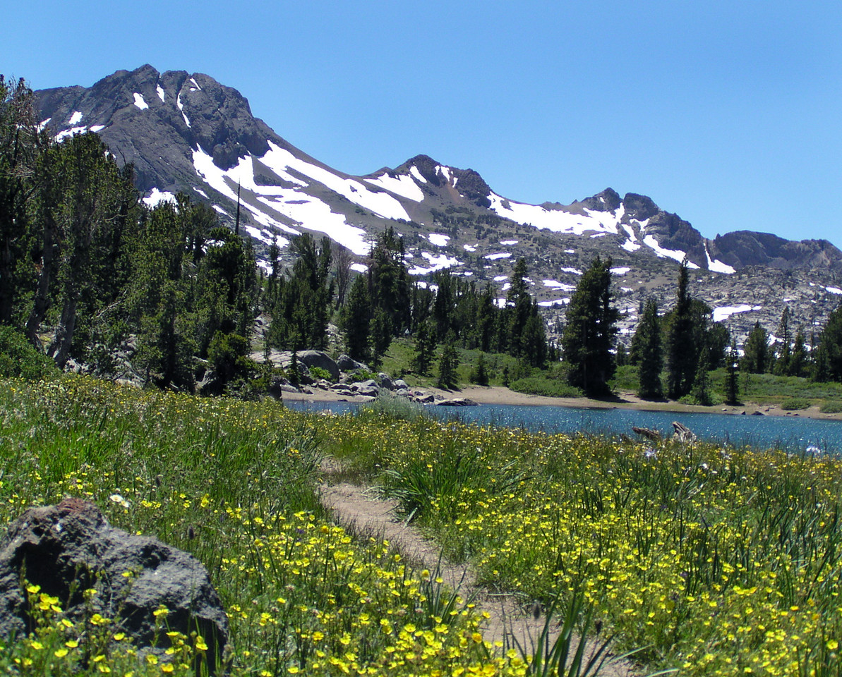 "SOC-071104-18  ""High Country Lake""  Frog Lake, Carson Pass, California"