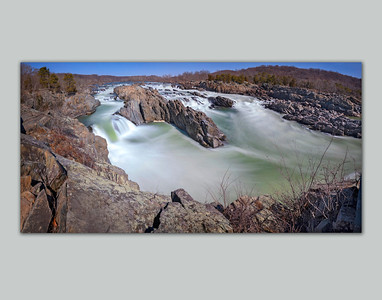 Great Falls on the Potomac River - color rendition