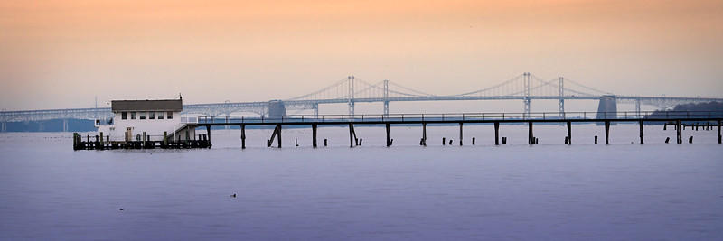 Chesapeake Bay Bridge & Boathouse