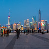 Bund Blue Hour