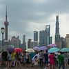 Rain on the Bund