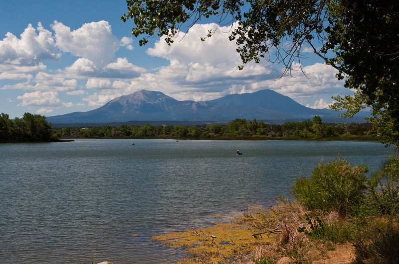 309 - Spanish Peaks from Horseshoe Lake