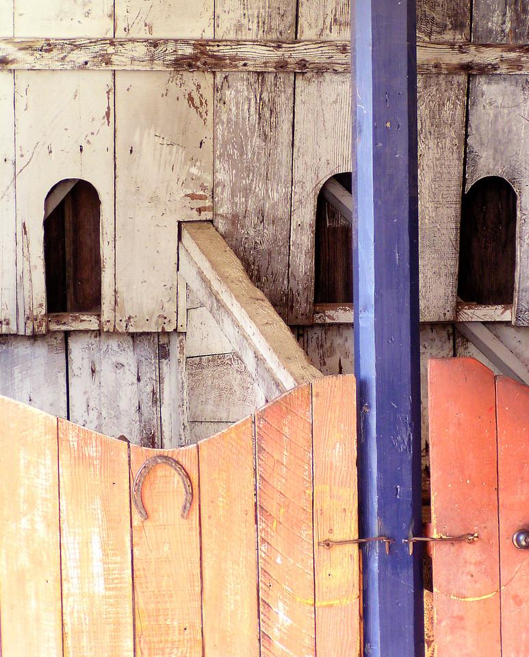 "HBC-041005-15 ""Horsebox""  San Juan Bautista State Historic Park, California."