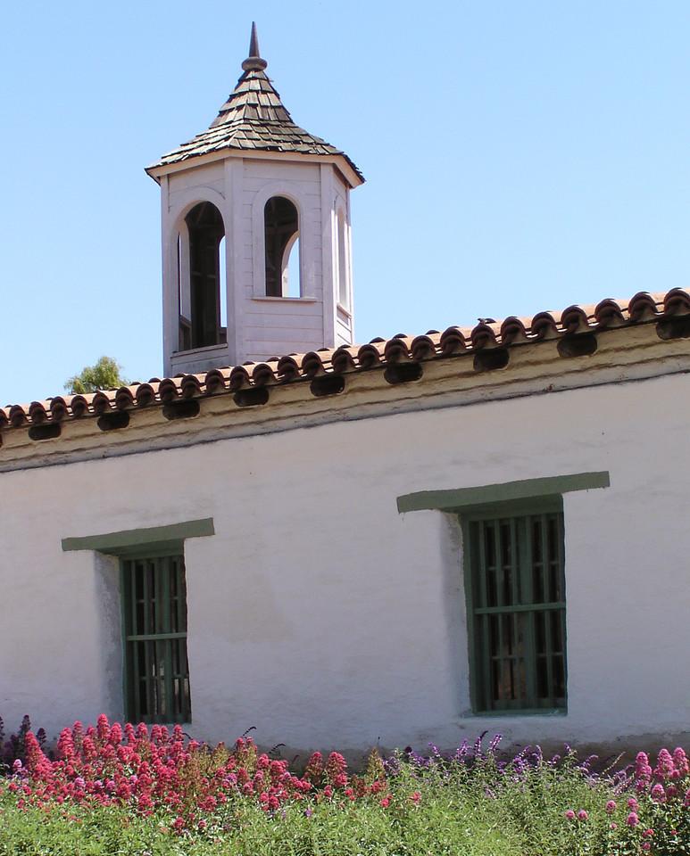 "HBC-042404-16 ""Bell Tower"" La Casa de Estudillo, Old Town San Diego, California."