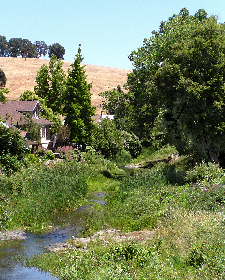 """SOC-053004-02AR """"Sutter Creek Scene""""  Sutter Creek, California.  """"Art Shots"""" look best when printed in matte finish."""