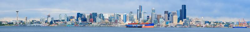 Seattle Skyline, Afternoon 5/4/2020