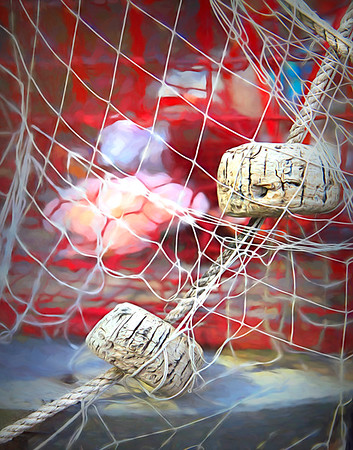 Fish Net and Crab Trap