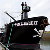 Alaska, Dockside view of the F/V Time Bandit crab boat.