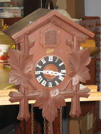 Schatz Cuckoo Clock Made in June 1956