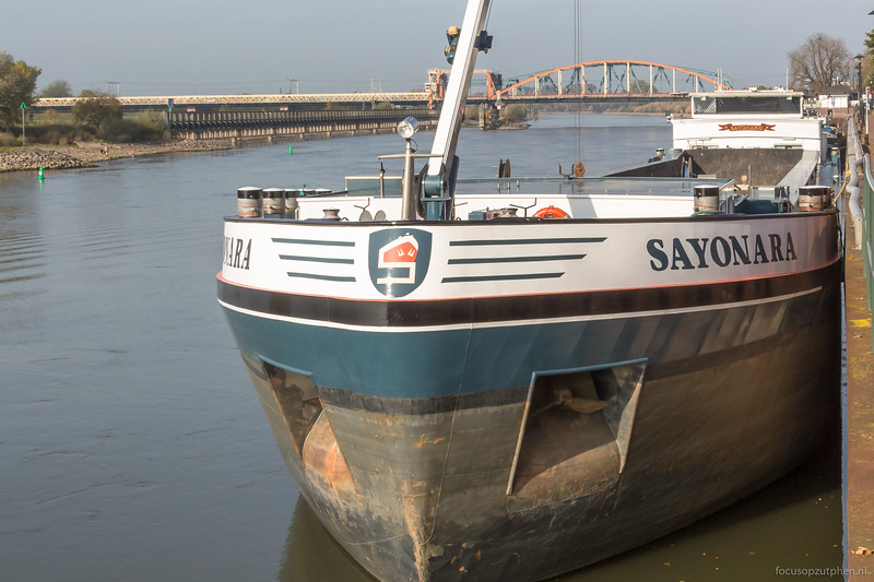 """Sayonara, beunschip 02325534 <a href=""""https://www.binnenvaart.eu/motorbeunschip/12174-eleonora.html"""" target=""""_blank"""">info</a>"""