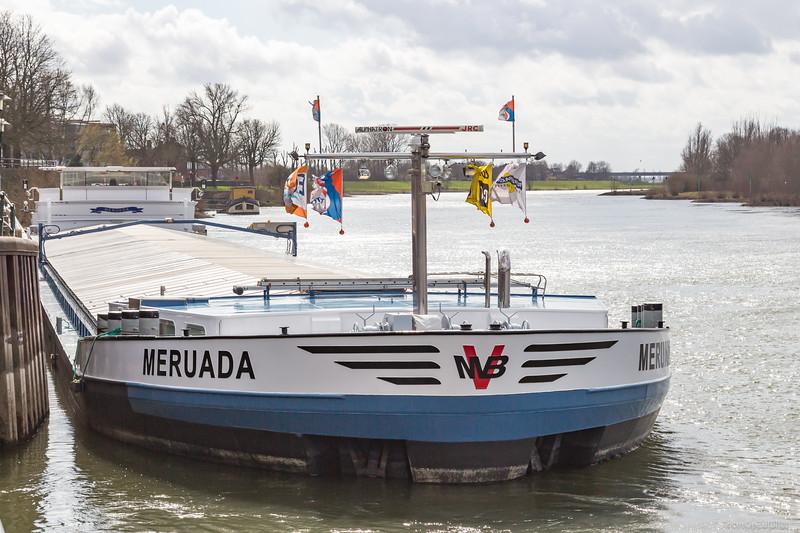 """Meruada, vrachtschip 02326908 <a href=""""https://www.binnenvaart.eu/motorvrachtschip/2748-meruda.html"""" target=""""_blank"""">info</a>"""