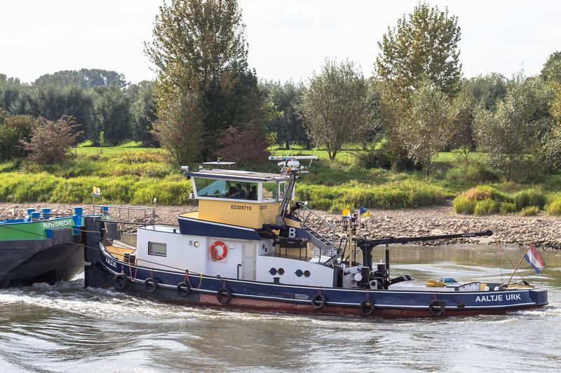 """Aaltje, duwboot 02309715 <a href=""""https://www.binnenvaart.eu/motorsleepboot/19824-lean-ii.html"""" target=""""blank"""">info</a>"""