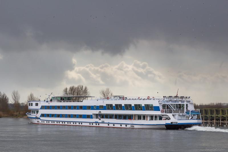 """Rhine Princess, passagiersschip 07000661 <a href=""""https://www.binnenvaart.eu/passagiersschip/12887-rhine-princess.html"""" target=""""_blank"""">info</a>"""