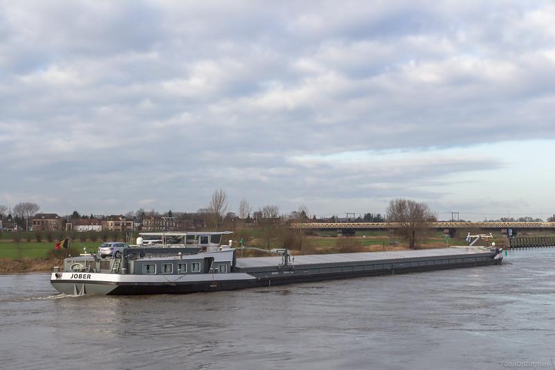 """Jober, vrachtschip 02330160 <a href=""""https://www.binnenvaart.eu/motorvrachtschip/14464-jober.html"""" target=""""_blank"""">info</a>"""
