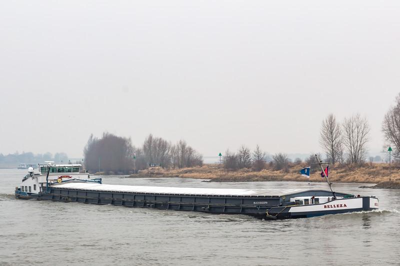 """Belleza, vrachtschip 02307914 <a href=""""https://www.binnenvaart.eu/onbekend/450-westschiffahrt-15.html"""" target=""""blank"""">info</a>"""