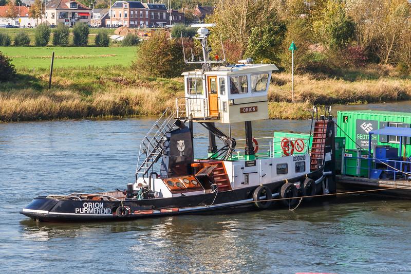 """Orion, duwboot 02309290 <a href=""""https://www.binnenvaart.eu/motorsleepboot/11051-gerda.html"""" target=""""blank"""">info</a>"""