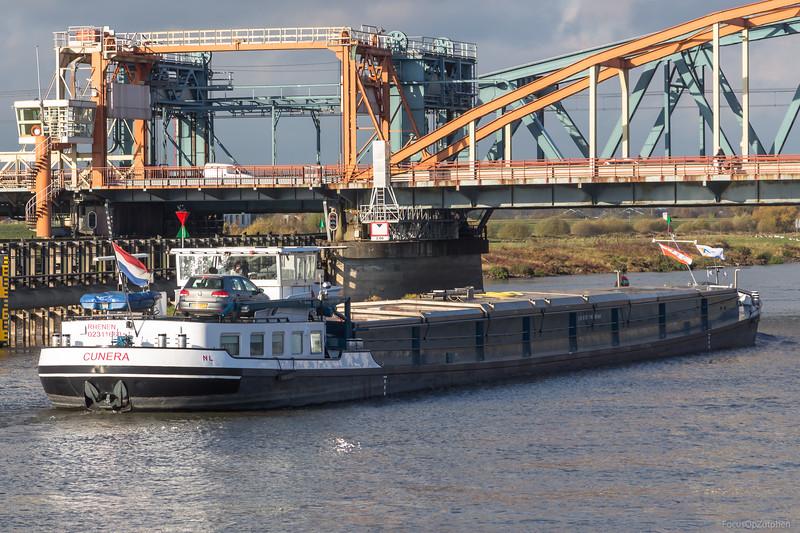 """Cunera, vrachtschip 02311663 <a href=""""https://www.binnenvaart.eu/motorvrachtschip/21793-junior-i.html"""" target=""""blank"""">info</a>"""