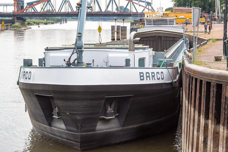 """Barco, vrachtschip 02326596 <a href=""""https://www.binnenvaart.eu/motorvrachtschip/6409-barco.html"""" target=""""blank"""">info</a>"""
