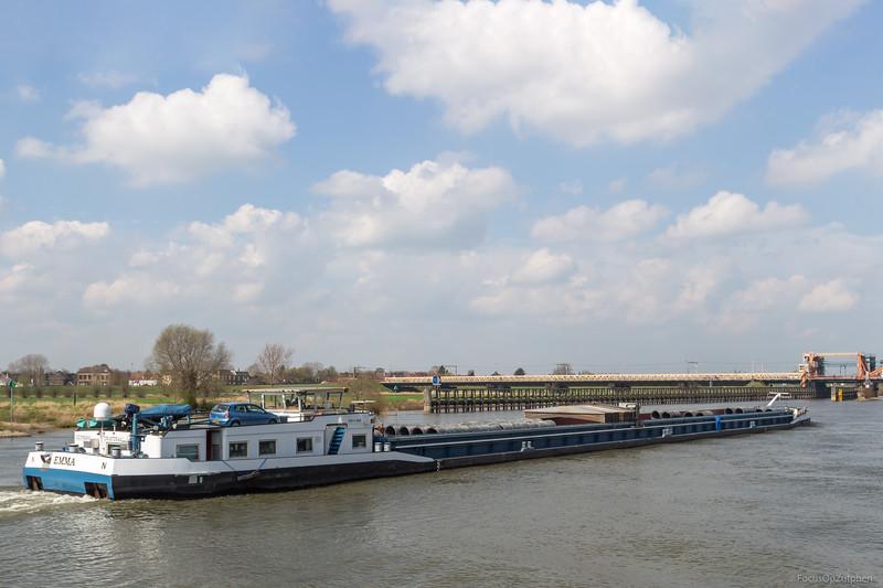 """Emma, vrachtschip 02316064 <a href=""""https://www.binnenvaart.eu/motorvrachtschip/7350-wilhelmina.html"""" target=""""_blank"""">info</a>"""